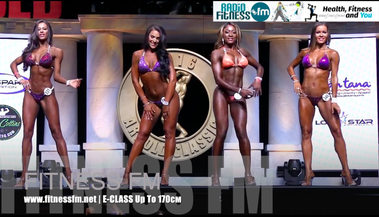 Arnold Classic 2016 – Fitness Bikini Up To 170cm