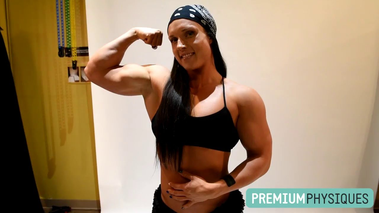 Sara Butler – Biceps Flexing