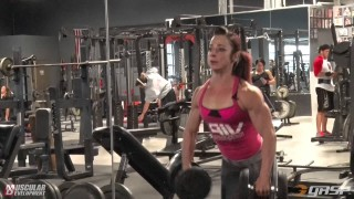 Jodi Miller – Shoulders Workout / 3 Weeks Out From The NPC Universe 2016