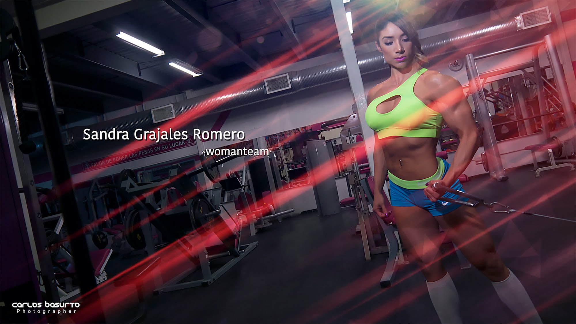 Sandra Grajales Interview & Workout