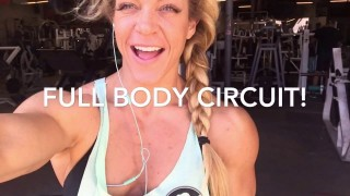 Kat Secor – Full Body Circuit Workout