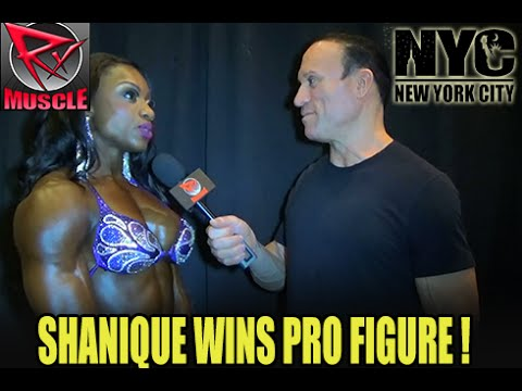 Shanique Grant Wins Pro Figure At The NY PRO 2016