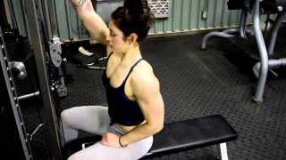 Natasha Aughey – Back & Shoulders Workout