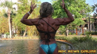 IFBB Pro Andrea Ketterman – Posing Interview