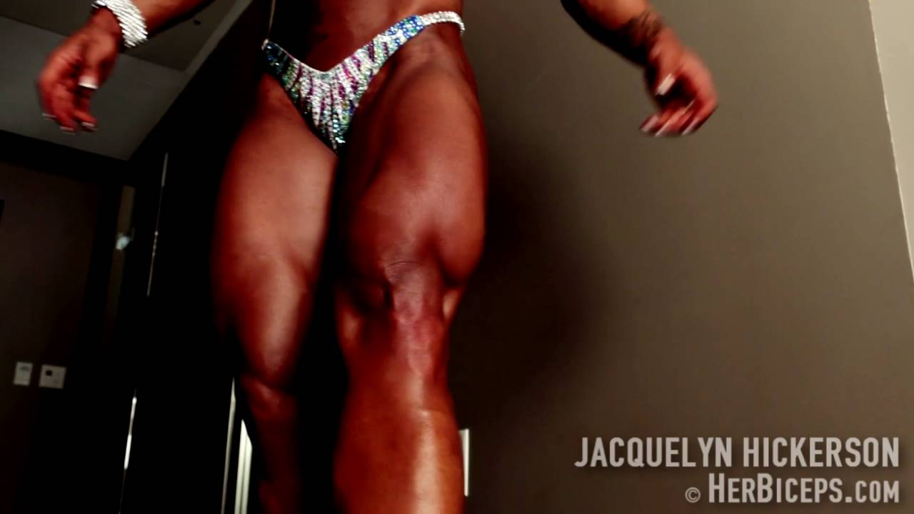 Jacquelyn Hickerson – Massive Quads Flexing