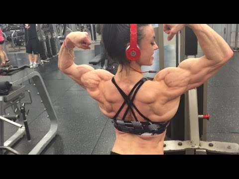 Jodi Boam – Back Workout / 1 Week Out From The IFBB Toronto PRO 2016