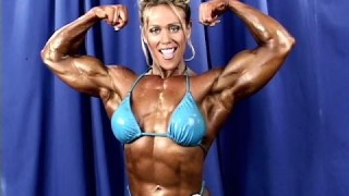 Colette Nelson – Backstage Posing