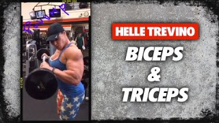 Helle Trevino – Biceps & Triceps Workout