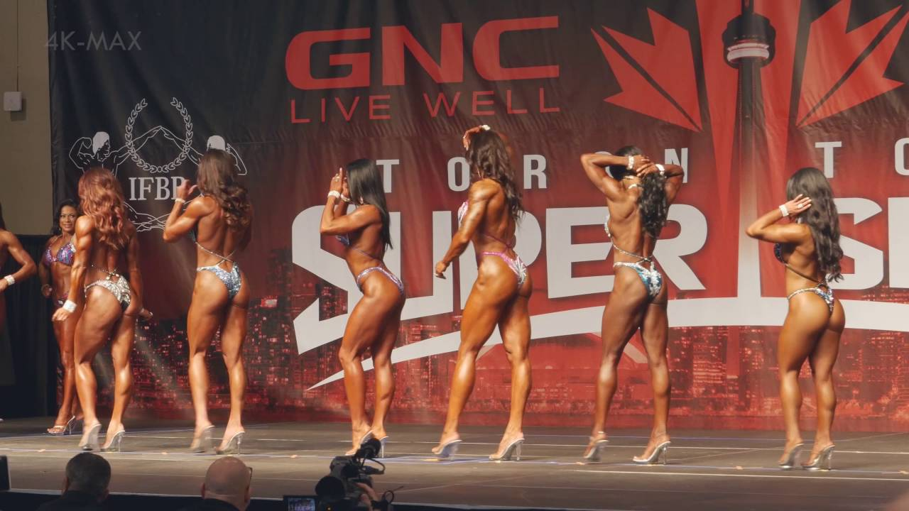 Toronto Pro Supershow 2016 – Women's Figure