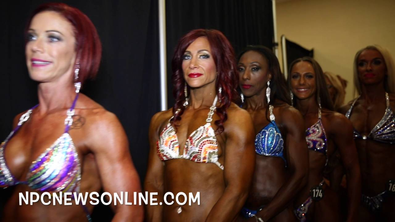NPC Atlantic States 2016 Backstage