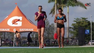 Darya Klishina – Training At IMG Academy