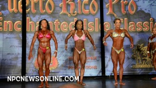 IFBB Puerto Rico Pro 2016 – Women's Physique Prejudging Comparison