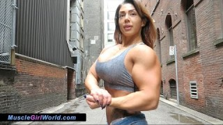 Mercedes Ciprut – Female Muscle Goddess