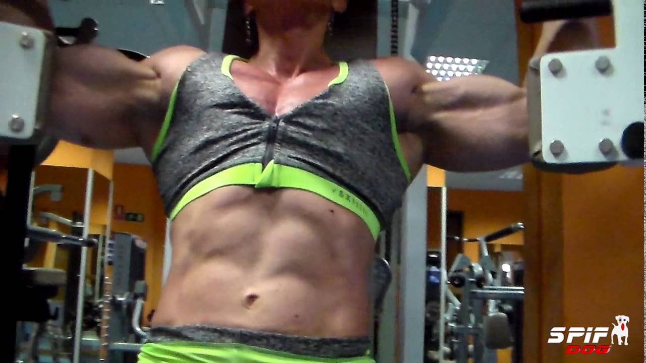Virginia Sanchez Macias – Chest Workout