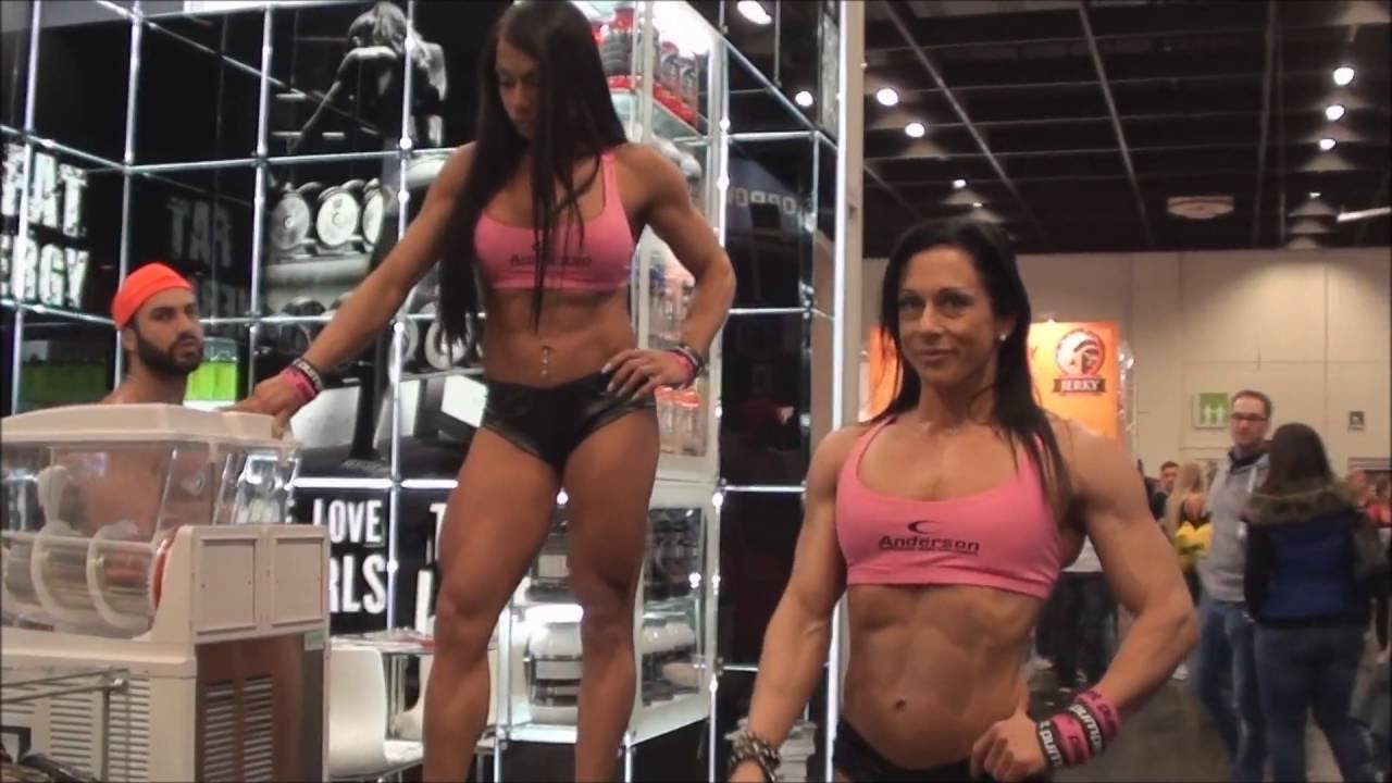 Jo Ponzi And Lorena Cozza At Fibo Power 2016