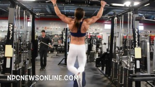 Liz Montalbano – Back Workout