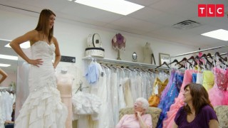 "198cm (6'6"") Tall Lexie Goes Wedding Dress Shopping"