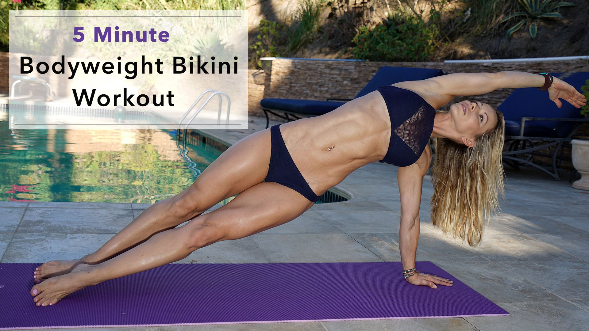 Zuzka Light – 5 Minute Fat Burning Bikini Workout