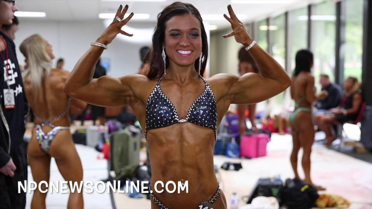 NPC USA 2016 – Women's Physique Backstage