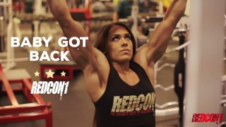 Cassandra Martin – Back Workout
