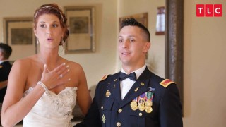 Tall Lexie And Harrison Get Married