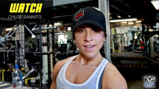 Chloe Sannito – Back Workout