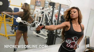 Marie Blanchard – Biceps Workout