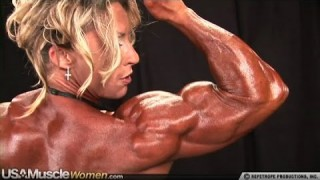 Dena Westerfield – Backstage Posing