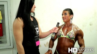 Jennie Roosa – IFBB North American Championships 2016 Interview
