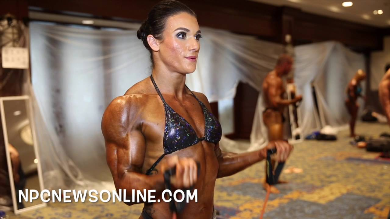 IFBB North American Championships 2016 – Women's Bodybuilding Backstage
