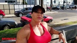 Helle Trevino – 5 Days Out From Wings Of Strength Phoenix Rising 2016 / Arms Workout