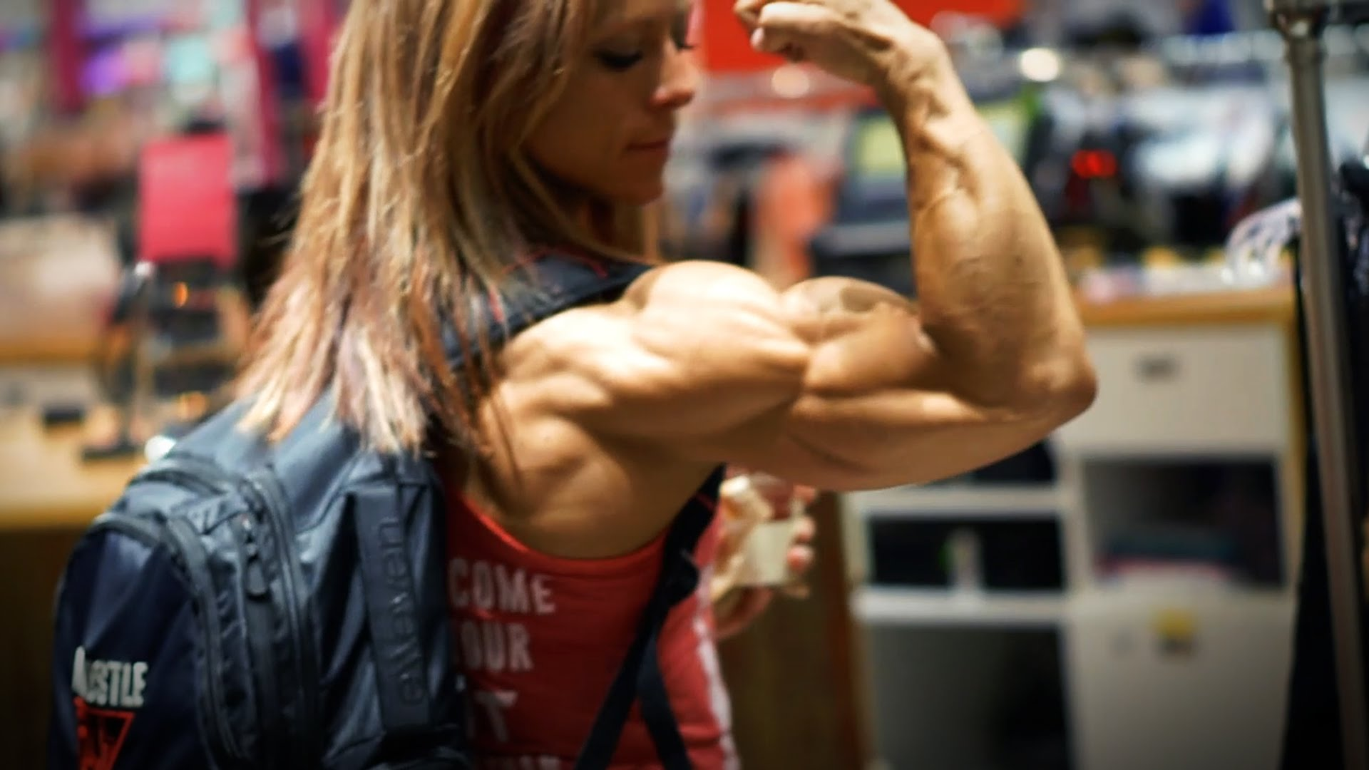 Danielle Reardon – One Week Out To The Ms. Olympia 2016 / Back Workout