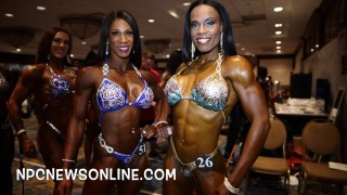 IFBB North American Championships 2016 – Women's Figure Backstage