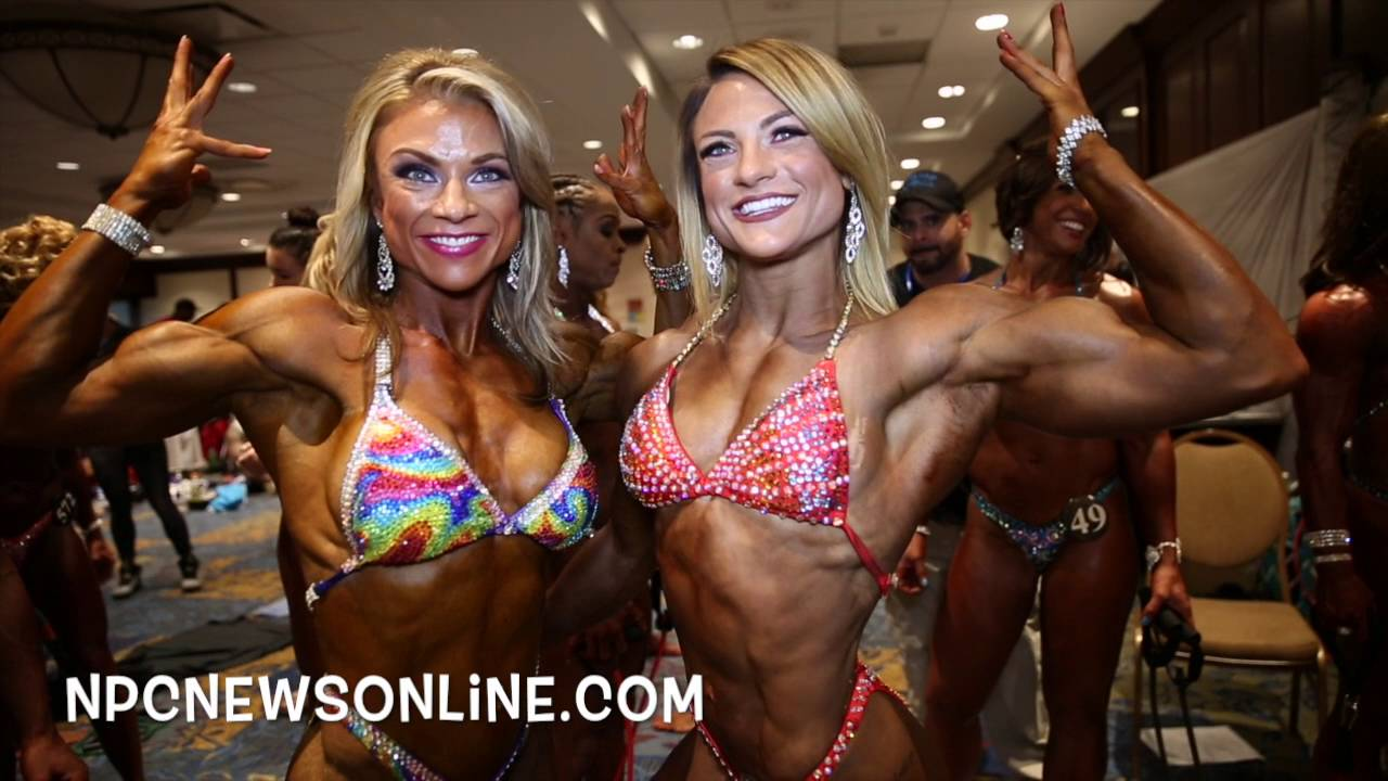 IFBB Pittsburgh Masters 2017 – Women's Physique Backstage