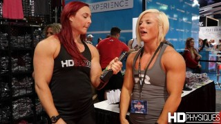 Brooke Walker – IFBB Pro Physique / Interview At The Olympia Expo 2016