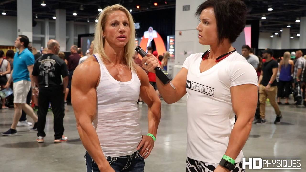 Jen Louwagie – IFBB Physique Pro / Interview At The Olympia Expo 2016