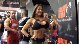Girls At Arnold Classic Europe 2016