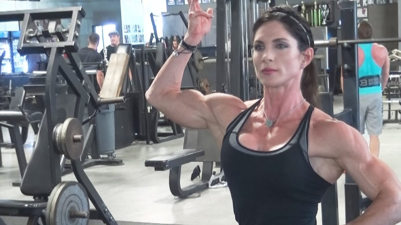 IFBB Physique Pro Vicki Diaz Workout