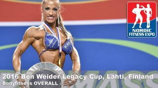 Ben Weider Legacy Cup 2016 – BodyFitness Overall