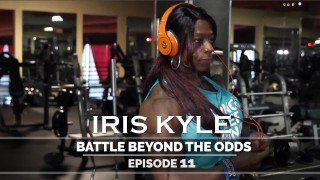 Iris Kyle – Quads Workout