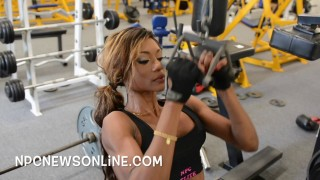 Marie Blanchard – Back Workout