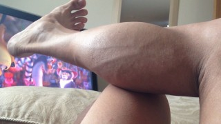 Christal Cornick – Calf Flexing