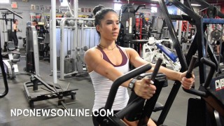 Carolina Araujo – Back Workout