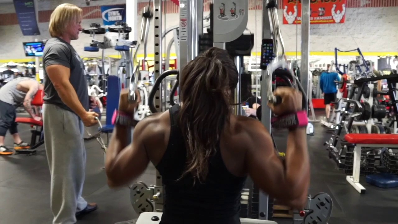 Candice Lewis Carter Workout