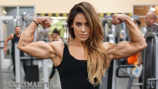 Cassandra Martin – Beautiful Female Bodybuilder