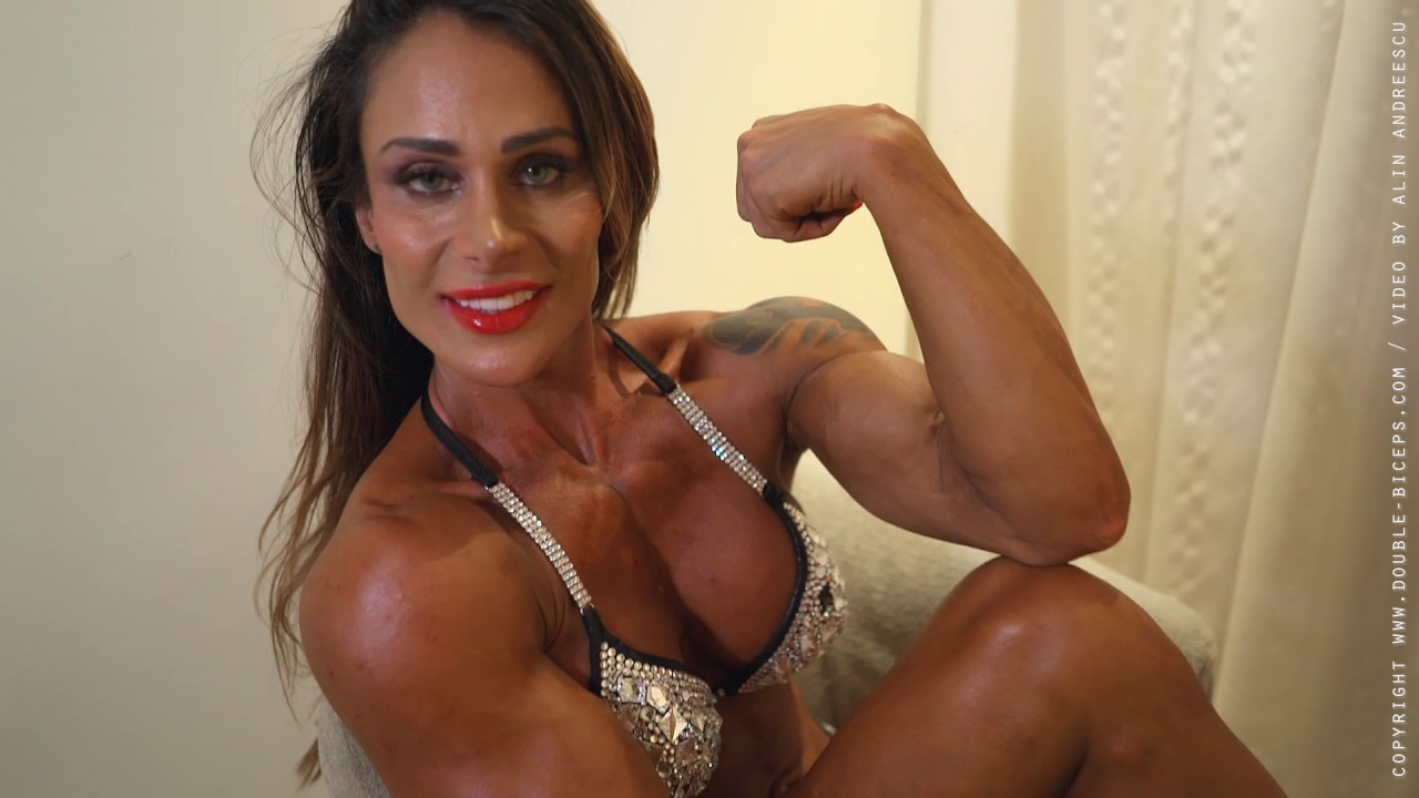 Cris Goy Arellano – Posing In Contest Suit
