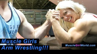 Muscle Girls ArmWrestling Compilation