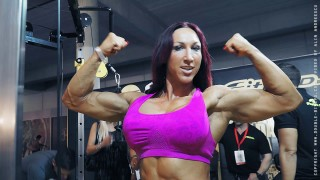 Modesta Halby – Biceps Flexing
