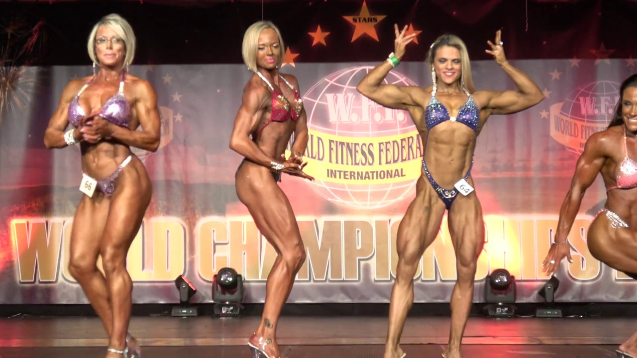 WFF World Championship 2016 – Women Superbody Posedown