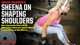 Sheena Jayne Martin – Delts Workout